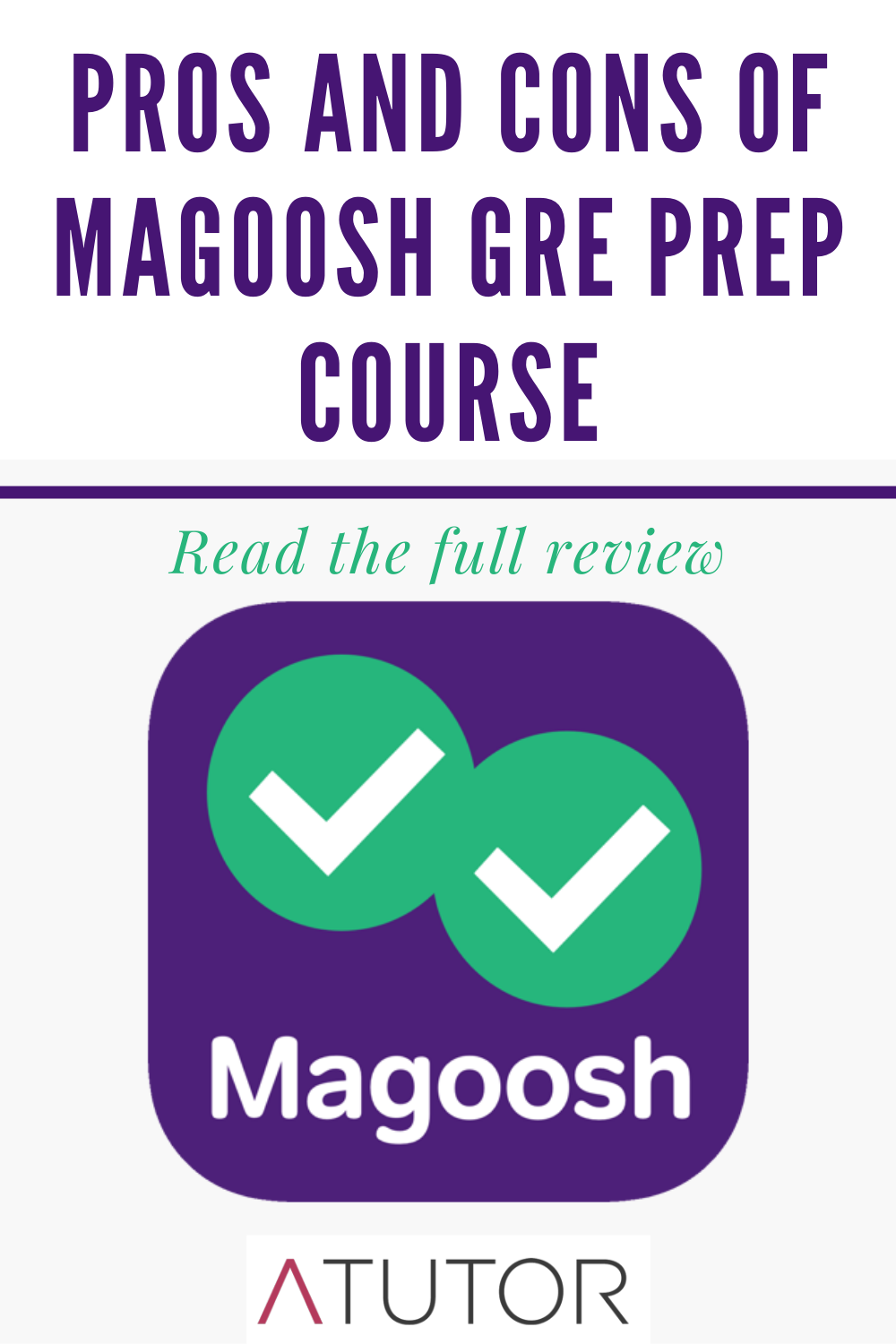 pros and cons of magoosh gre