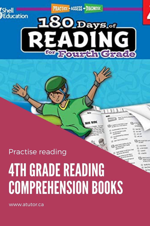 reading comprehension books 4th grade