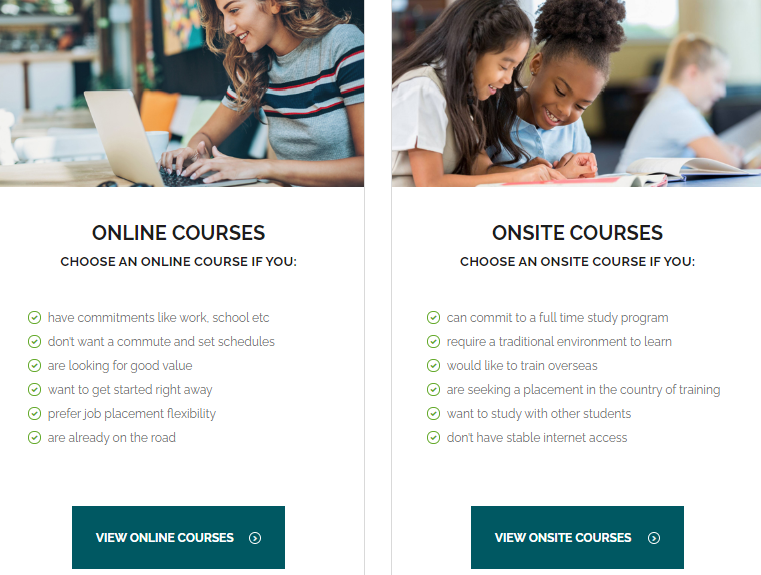 MyTEFL online and onsite courses