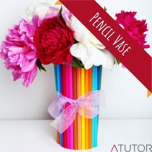 diy teacher gifts pencil vase