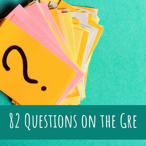 how many questions on GRE