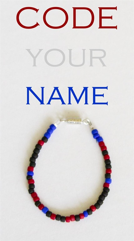 code your name