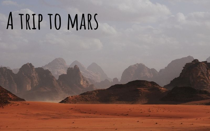 a virtual trip to mars that students will love