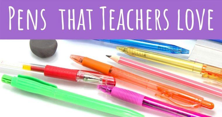 Best Pens for Teachers in 2021 – Reviewed by Teachers