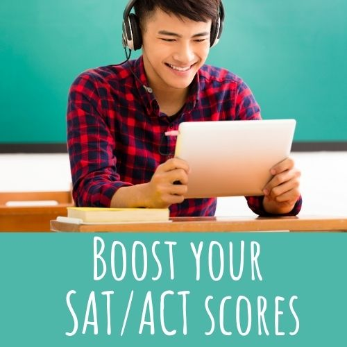 boost SAT / ACT scores
