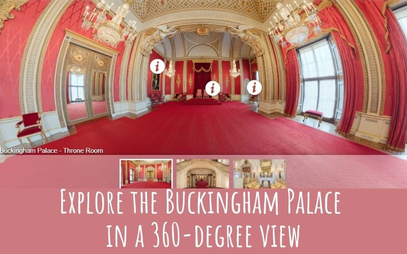 virtual tour Buckingham palace