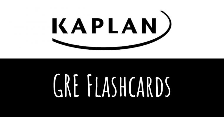 Increase Your GRE Score with Kaplan GRE Flashcards