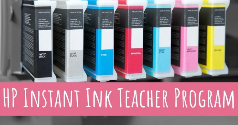 Save Money and Time with HP Instant Ink Teacher Program