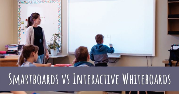 Smartboards vs Interactive Whiteboards