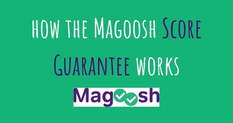 How the Magoosh Score Guarantee Works