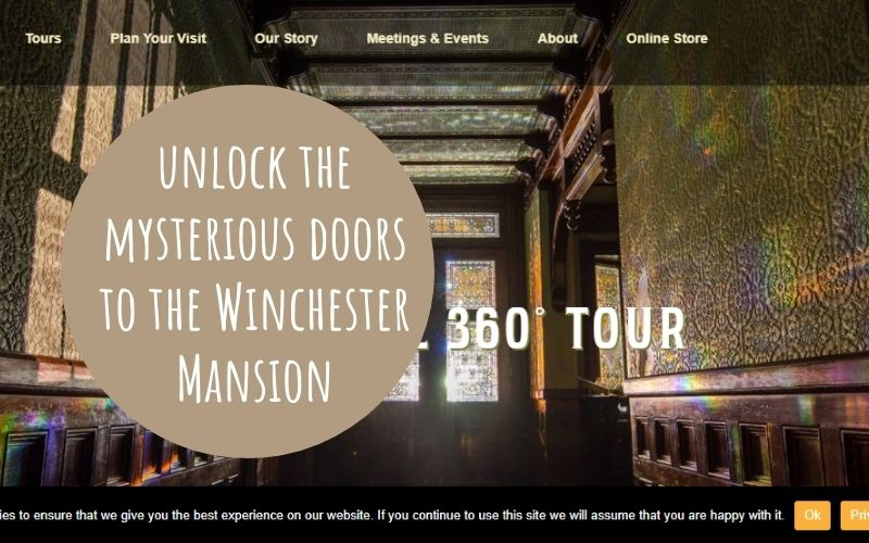 Virtual Field Trip to Winchester Mansion