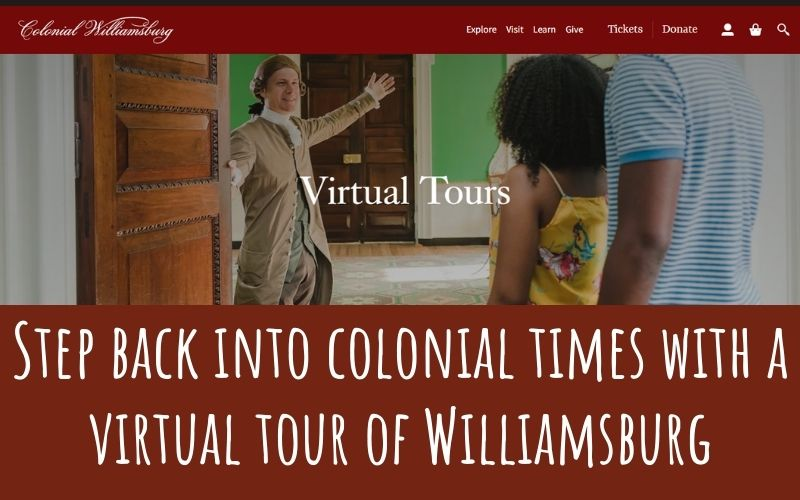 history virtual trip for students
