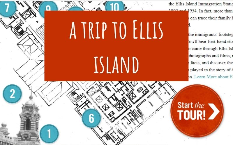 virtual trip to ellis island