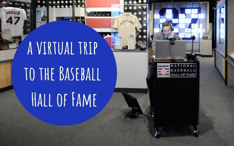 baseball hall of fame virtual tour for students