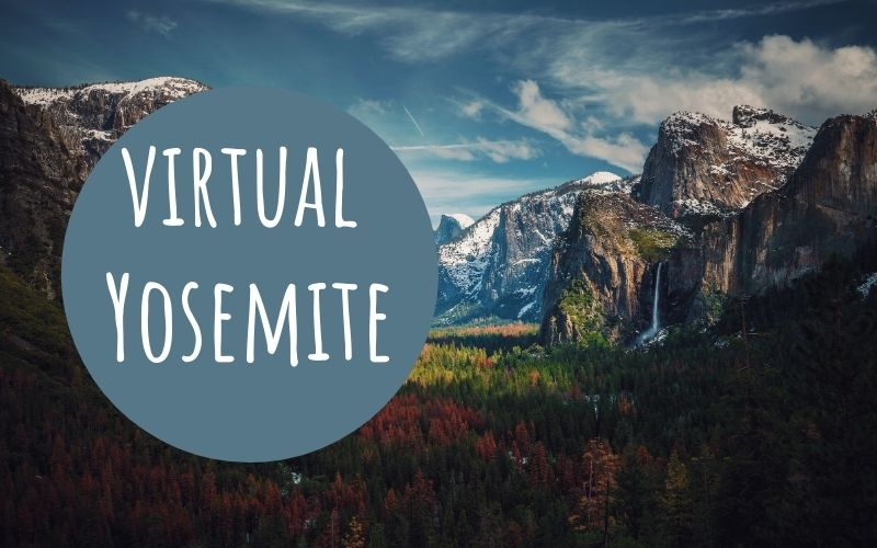 virtual yosemite for students