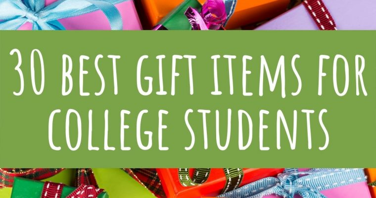 30 Best Gifts for College Students that They Will Love