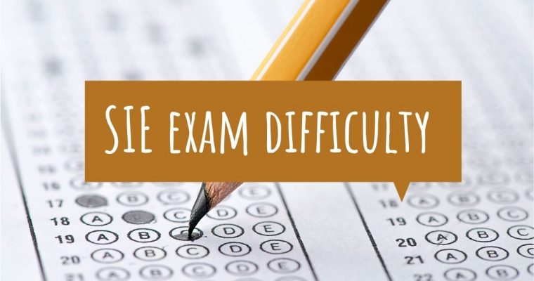 The SIE Exam Difficulty and How to Pass the Exam
